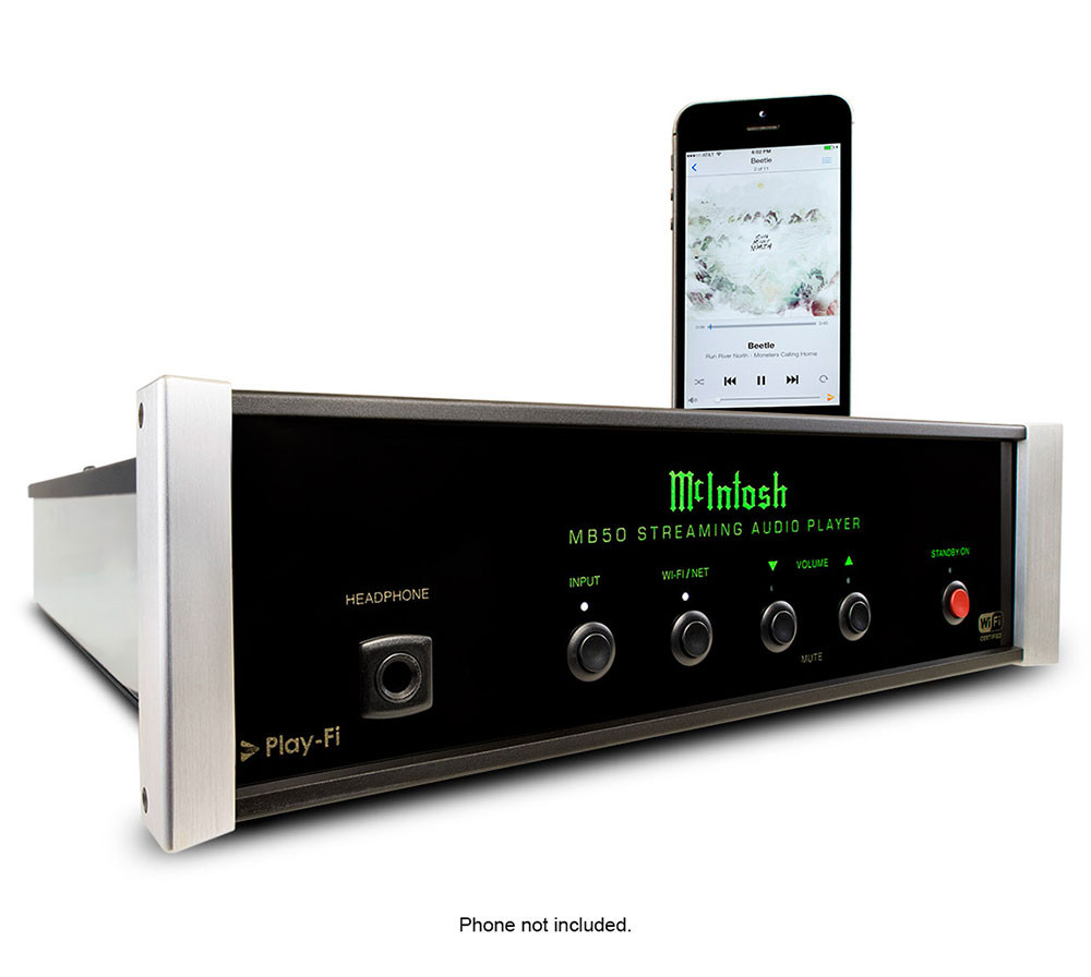 McIntosh MB50 soitin