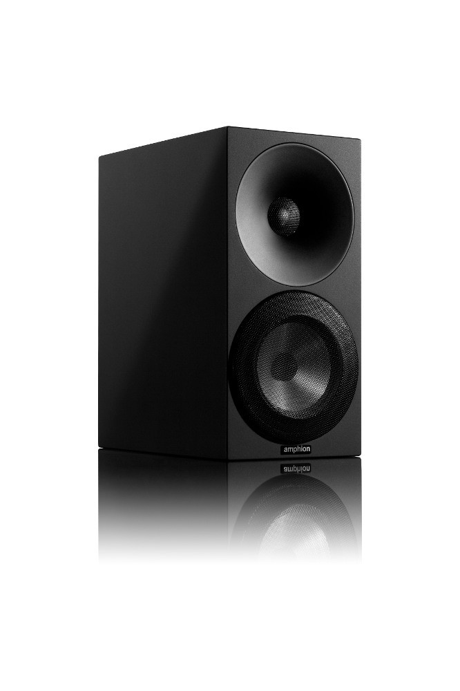 Amphion Argon 1 jalustakaiutin musta