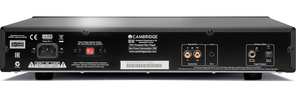 Cambridge Audio CXC CD-soitin