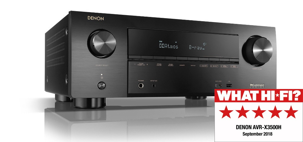 Denon X3500H what Hi-FI