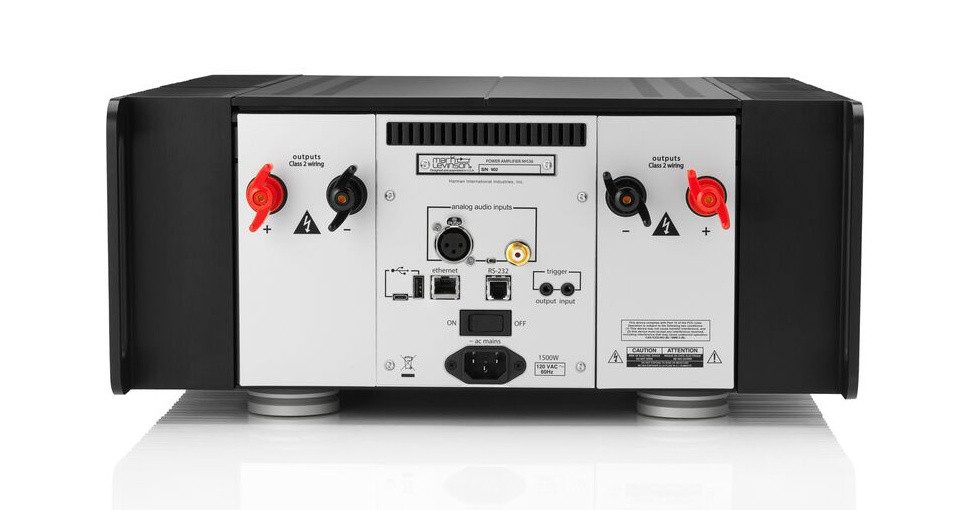 Mark Levinson No536, takapaneeli