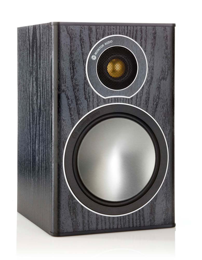 Monitor Audio Bronze 2 jalustakaiutin musta