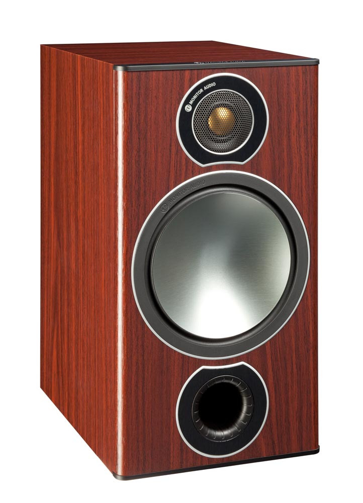 Monitor Audio Bronze 2 jalustakaiutin ruusupuu