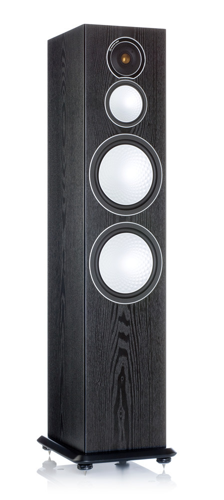 Monitor Audio S10 lattiakaiutin black ash