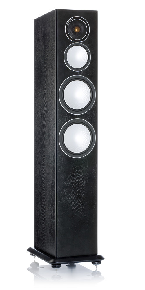 Monitor Audio S8 lattiakaiutin black ash
