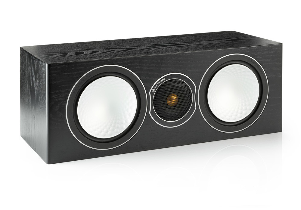 Monitor Audio S Centre keskikaiutin black ash
