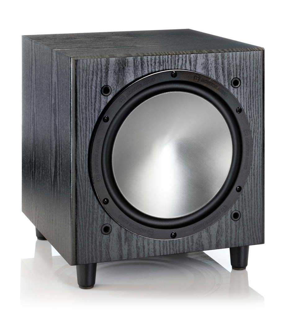 Monitor Audio Bronze W10 subwoofer musta