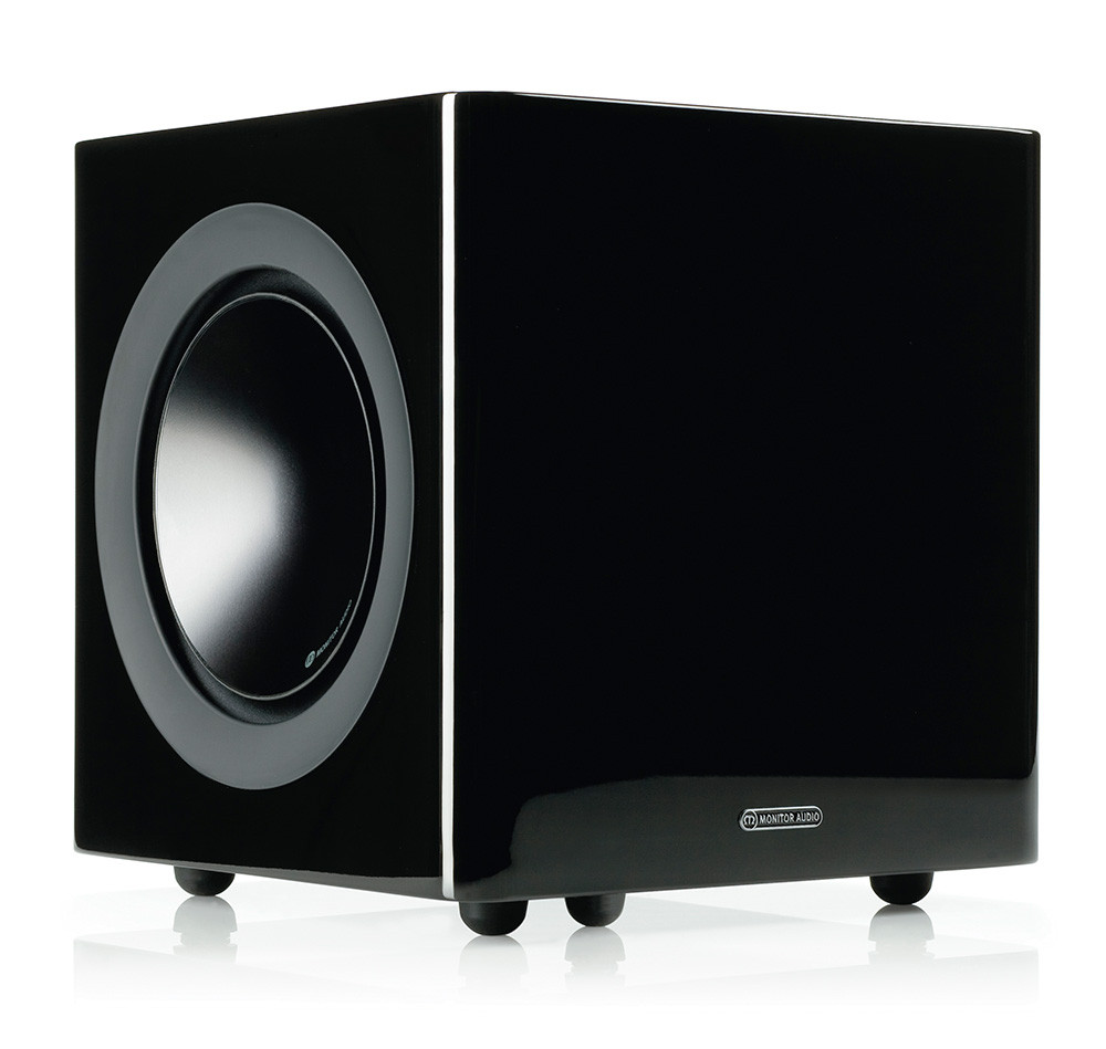 Monitor Audio Radius 380 G3 Subwoofer musta