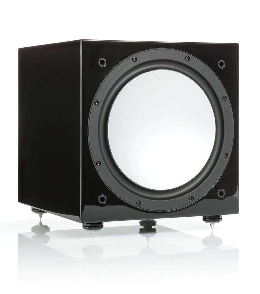 Monitor Audio Silver W12 subwoofer kiiltomusta