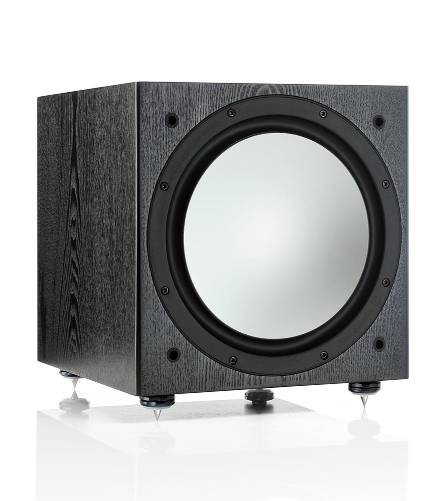 Monitor Audio Silver W12 subwoofer musta