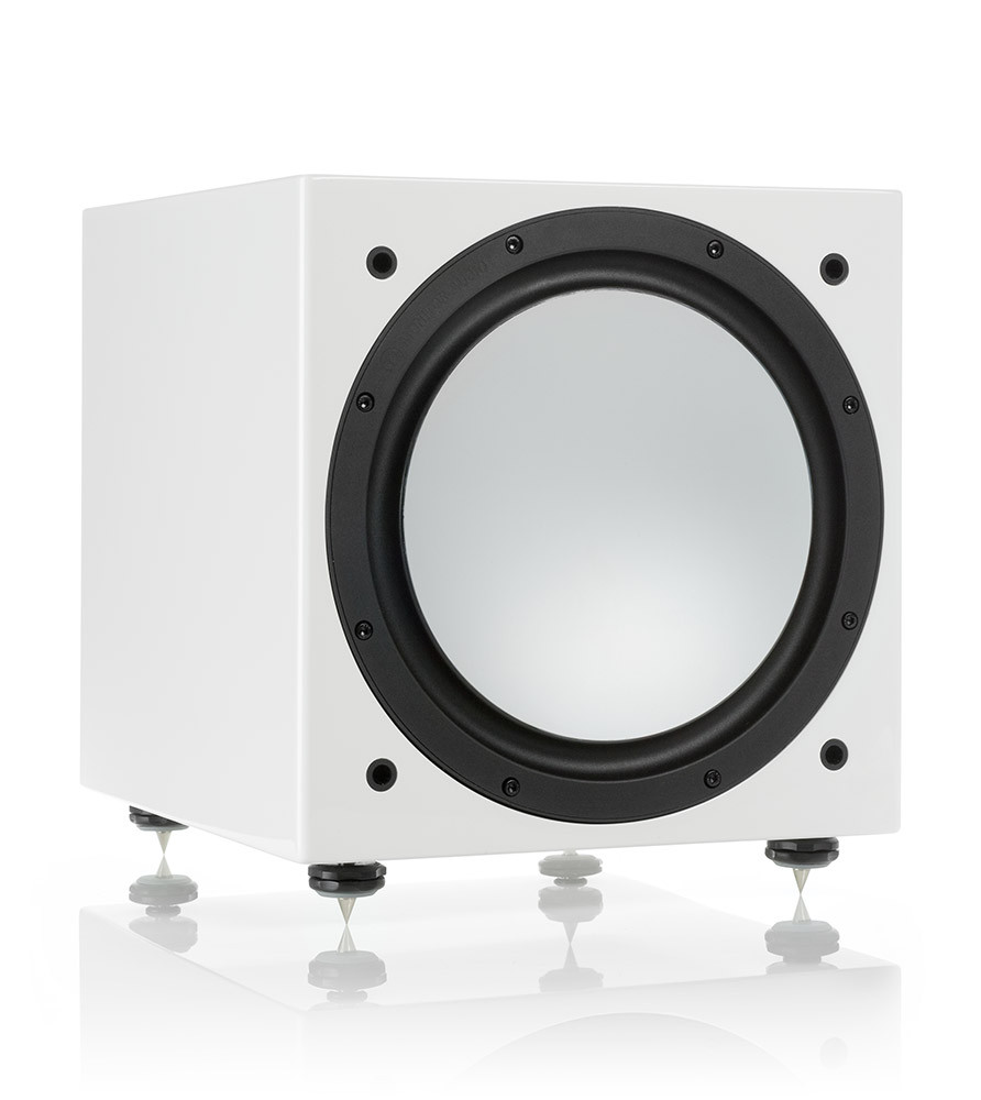 Monitor Audio Silver W12 subwoofer valkoinen