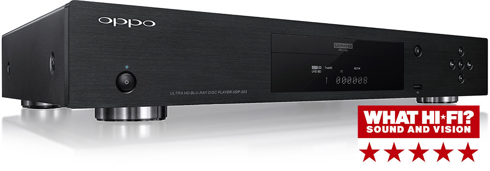 OPPO UDP-203 4K- Bluray- soitin What hifi