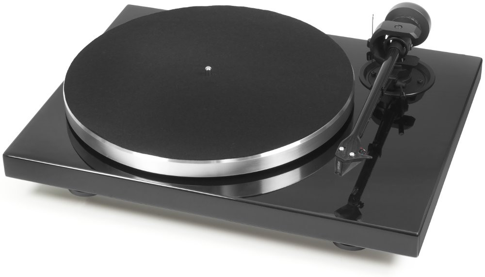 Pro-ject 1-Xpression Carbon Classic musta