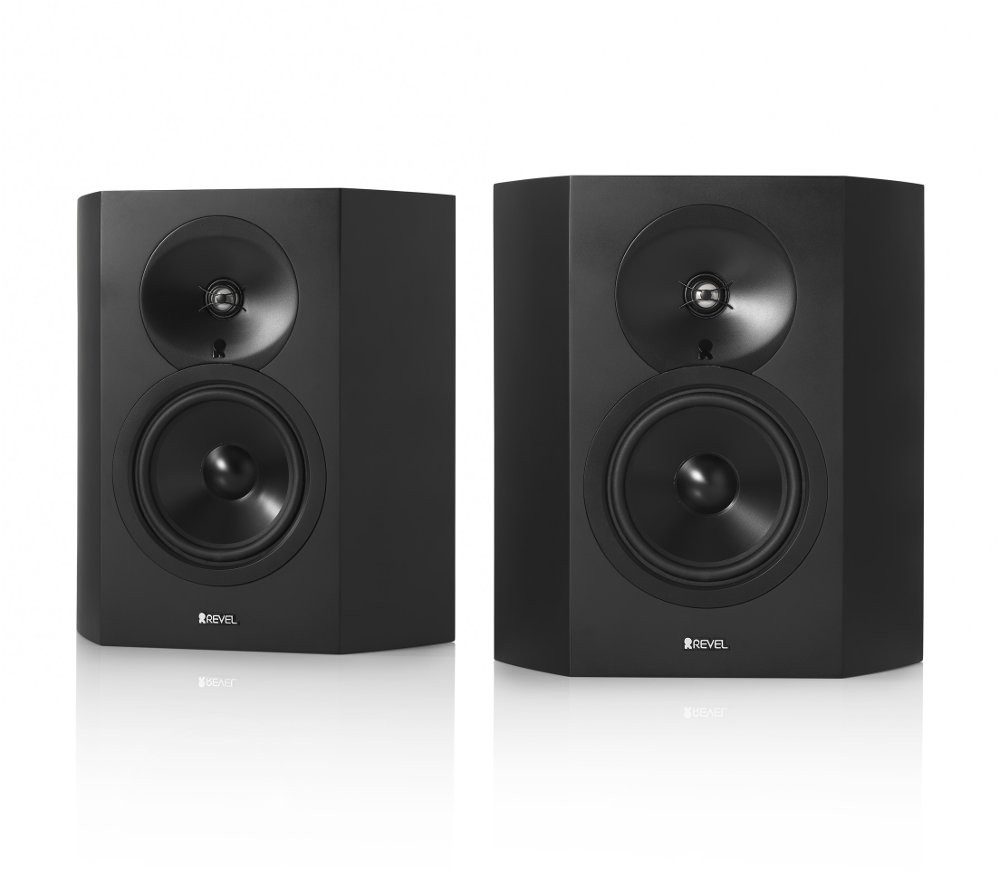 Revel S16 surround musta